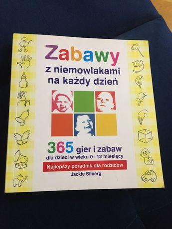 Książka zabawy z niemowlakiem na każdy dzień