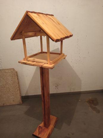 Karmnik dla ptaków. 100% ręczna praca