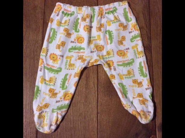 Ползунки штаны фирменные carter's 0-3 мес