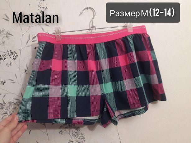 Новые пижамные шорты Matalan Размер 12-14 (М) шорты для дома