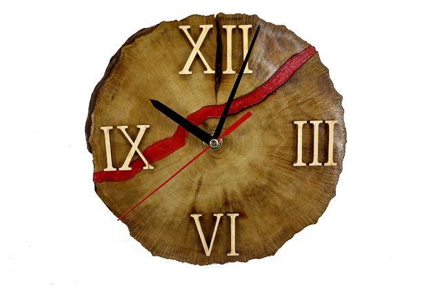 Часы из дерева для дома. Распродаем остатки. Акция!