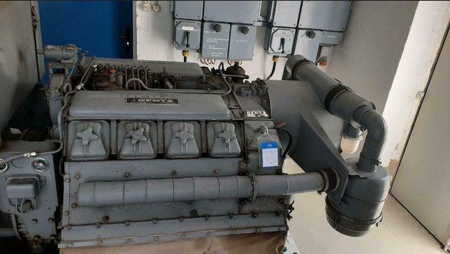 Agregat prądotwórczy 125Kva silnik deutz V8
