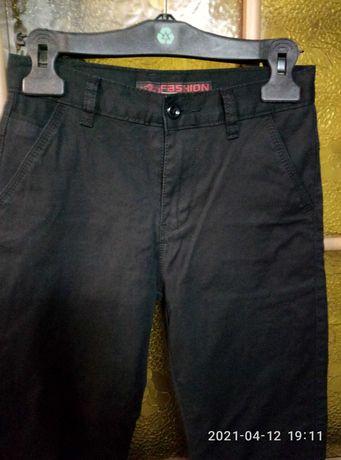 брюки джинсы черные для мальчика