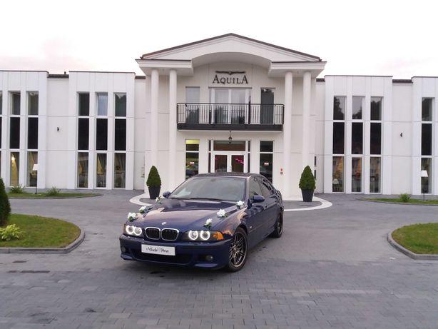 BMW m5 BMW e60 do ślubu