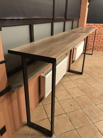 Blat drewniany Nowoczesny stół z drewnianym blatem