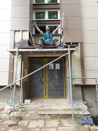 Робота в Литві. Утеплення фасадів.