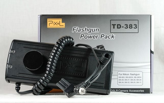 Zasilacz battery pack TD-383 Power pack Nikon SB-800
