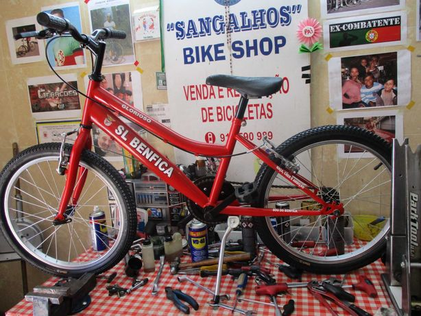 Bicicleta SL BENFICA Júnior roda 20