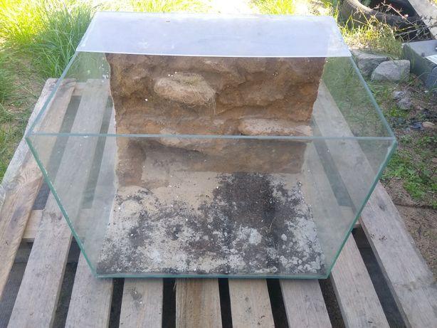 Akwarium terrarium 60l 37x37x46