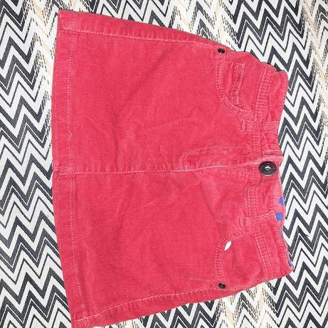 Юбка джинсовая, вельветовая 8 лет 128 см