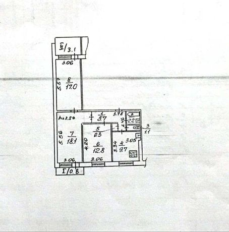 Продам 3 комн квартиру ж/м Победа-4, пр. Героев, китайка