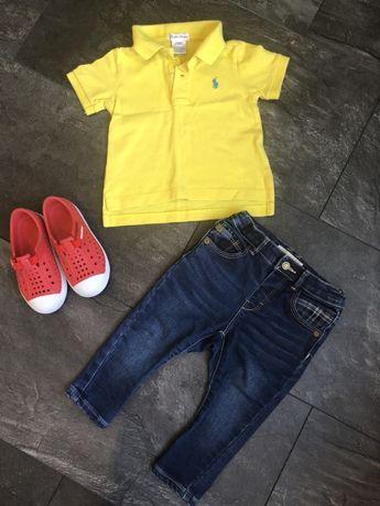 Кофта. Свитер. Джинсы Одежда 9-18м. Ralph Lauren. Zara. H&M