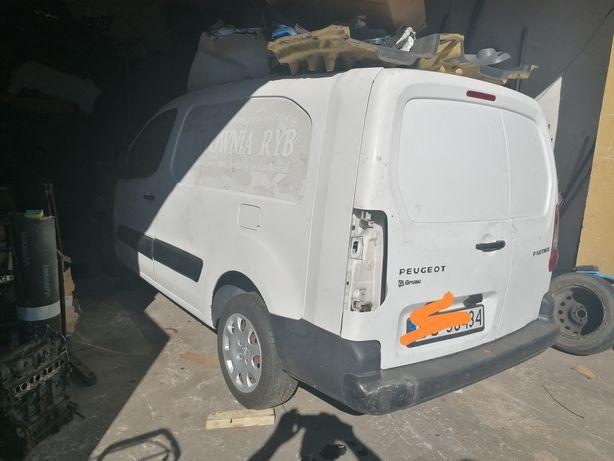 Peugeot Partner po wypadku