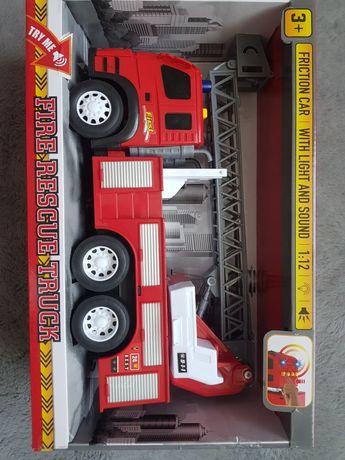 Nowy Pojazd straży pożarnej wóz strażacki fire rescue truck