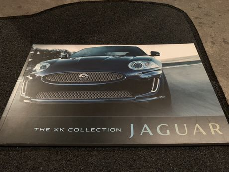 Prospekt Jaguar XK