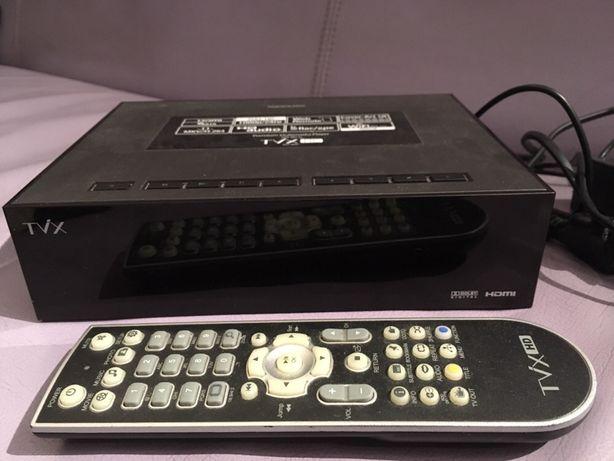 Odtwarzacz multimedialny TVX czyta wszystko jak nowy Pudełko instrukcj