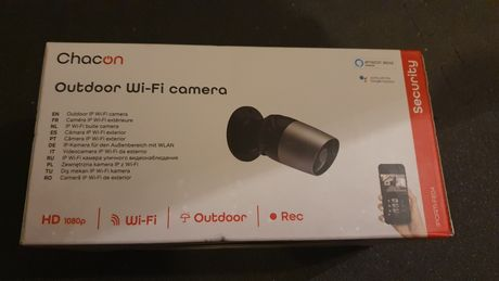 Chacon Câmara segurança ip Wi-Fi selada