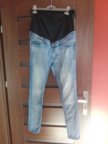 Rurki jeansy ciążowe H&M mama 40/42