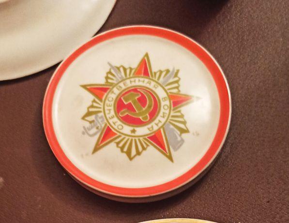 Тарелка сувенирная Великая отечественная война