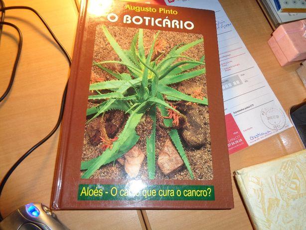 Livro O Boticário Aloés o cacto qe cura o Cancro?