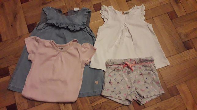 Продам одежду на девочку H&M рост 74