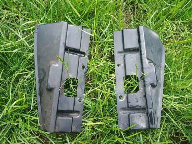 пластик KLE 500, боковушки от радиатора