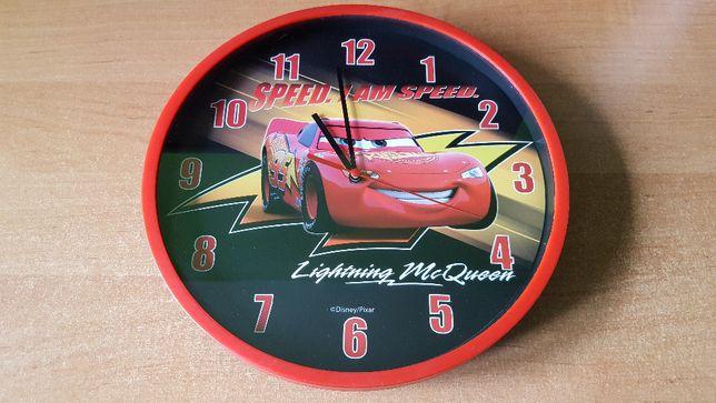 Zegar na ścianę 25x25 Auta Cars
