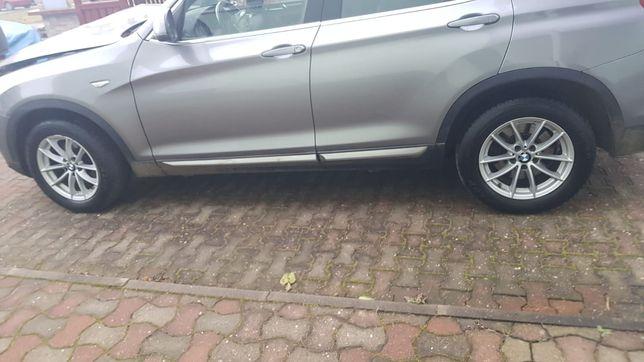"""Koła zimowe 17"""" oryginał BMW x3 f25 4szt dunlop winter sport"""