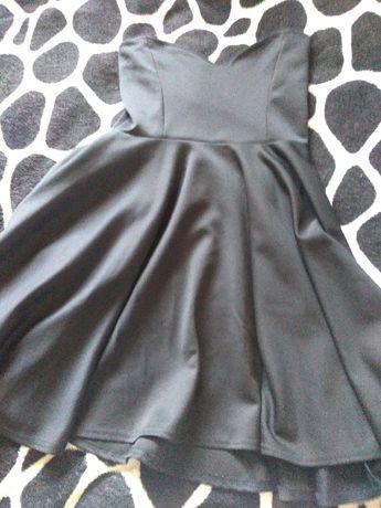 Платье солнце,черное.корсет