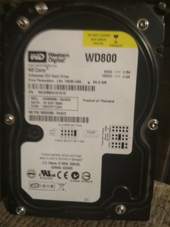 Продам жосткий диск WD800 Б/В
