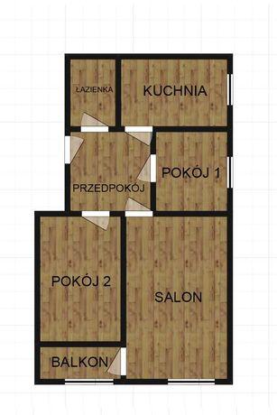 Mieszkanie na sprzedaż w Augustowie 46,5 m2