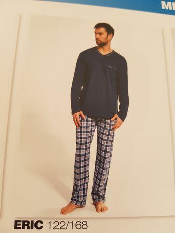 Piżama męska długi rękaw lub krótki nowa.