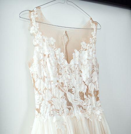 Suknia ślubna Estelle (model-venice) rozmiar -36