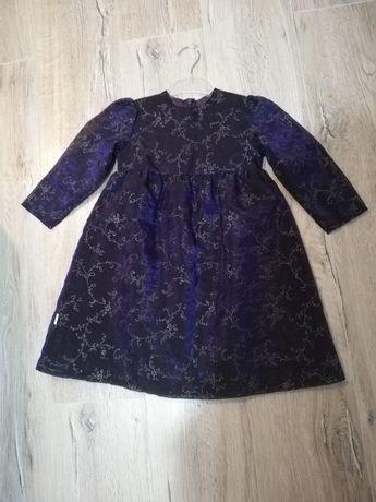 Sukienka okolicznościowa rozmiar 98 JAK NOWA