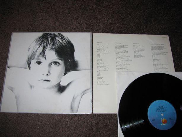 U2 – Boy, płyta winylowa