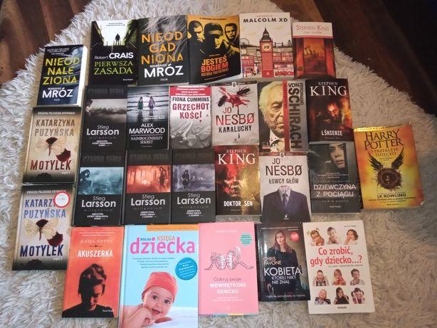 Książka, książki min. Puzyńska,mróz,King i inni.