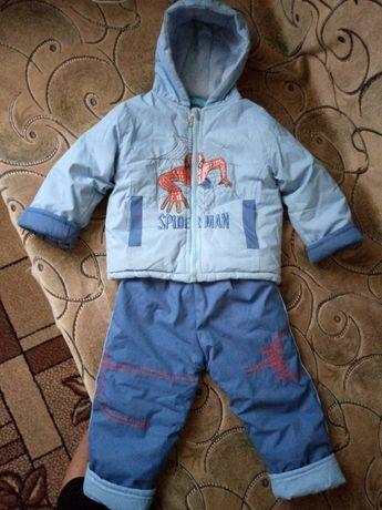 Теплый костюм (весна - осень)  для мальчика