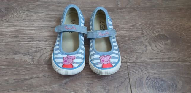 "Мокасины (туфли) M&S ""Свинка Пеппа Peppa Pig"", стелька 19 см"
