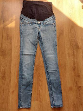 spodnie jeansowe ciążowe rozm.36