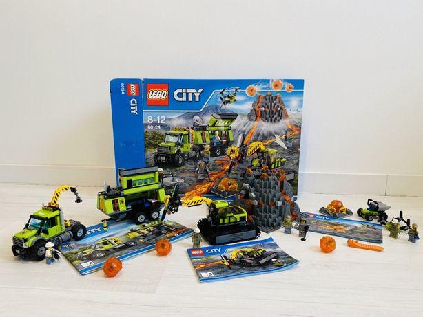 Lego 60124 wulkan, badacze MEGA DUŻY zestaw