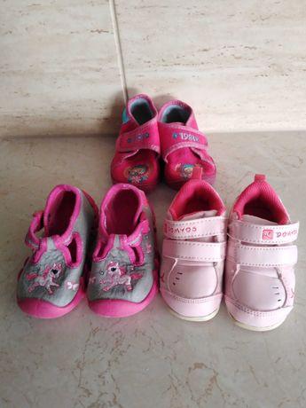 Zestaw bucikow dla dziewczynki
