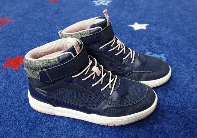 H&M - r.33 / 22 cm - buty za kostkę _ jak nowe