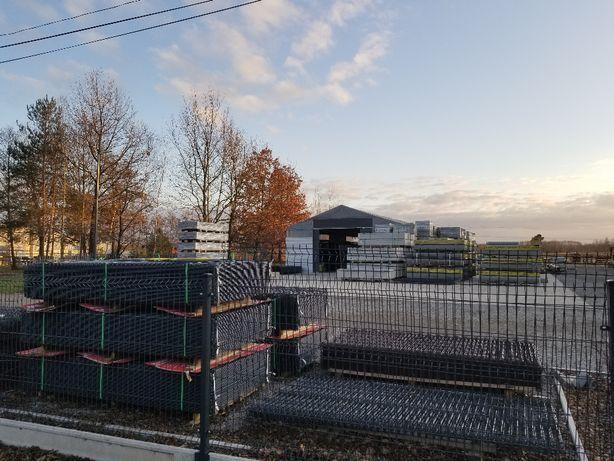 PROMOCJA !!! Panel ogrodzeniowy 2500x1230 ocynk + RAL SZCZUROWA