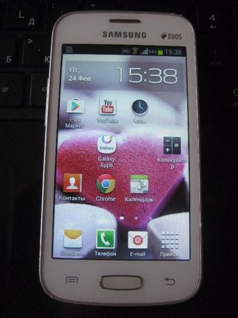 Телефон Samsung Galaxy Star Plus Duos GT-S7262 White