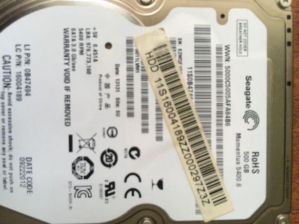 HDD 500Gb Жесткий диск Seagate