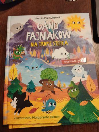 Książka Gang Fajniaków Biedronka Nowe