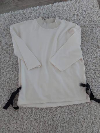 Wiązana z boku bluza ecri
