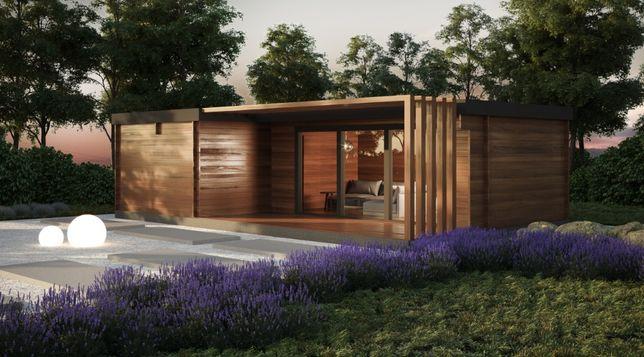 Dom nowoczesny - KOSTKA 2