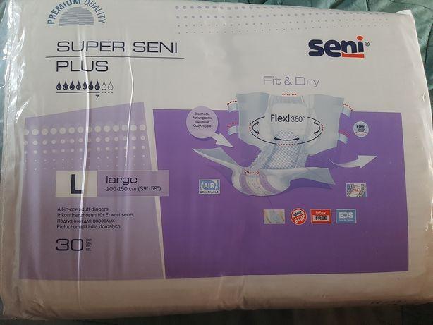 Памперсы Super seni plus,размер L(3)