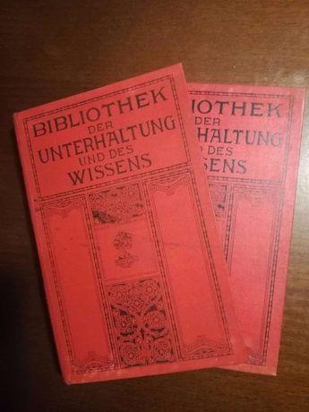 Bibliothek der unterhaltung und des wissens cz.3 i 12 z 1910r.
